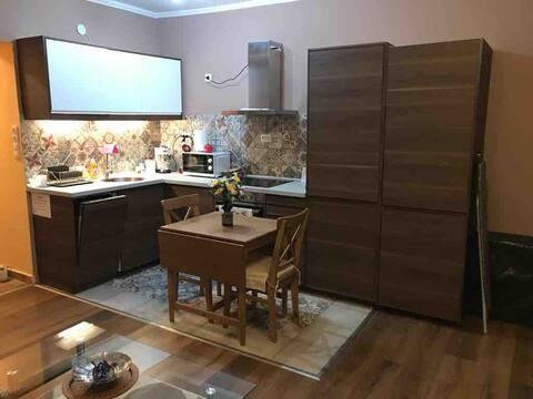 Cosy one-bedroom apartment in leafy, quiet area
