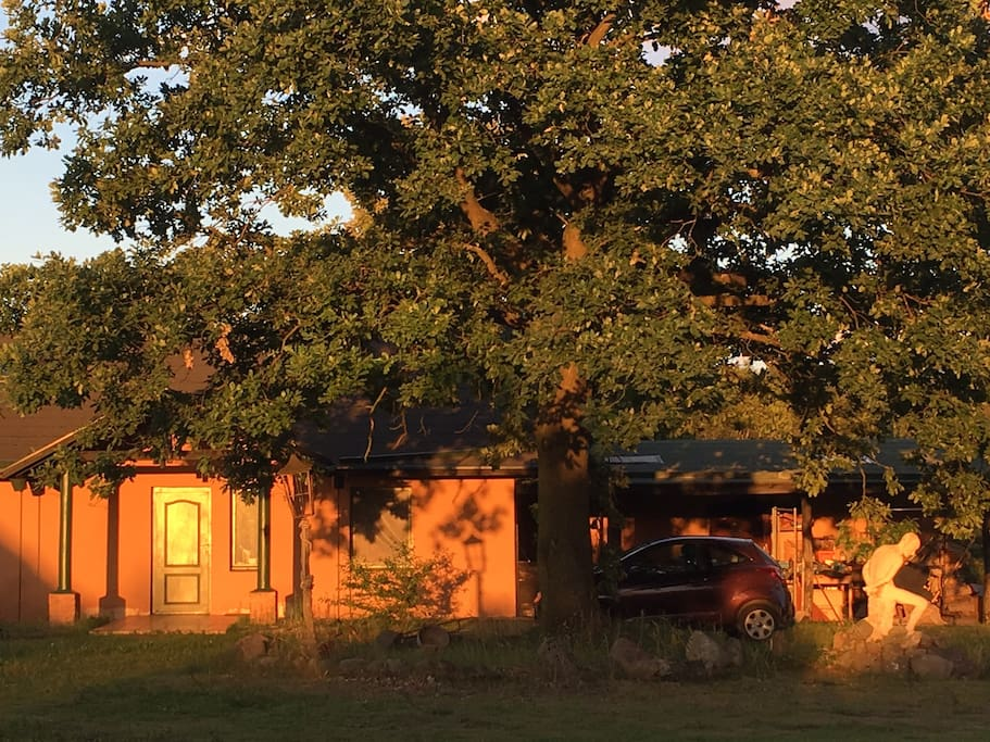 Main house during sunset :)