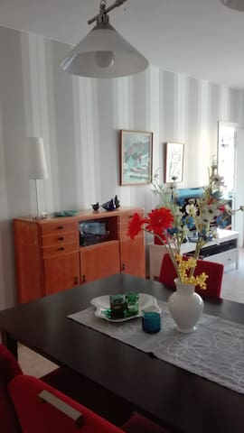 Nice 3-room apartment, 17 min to city center