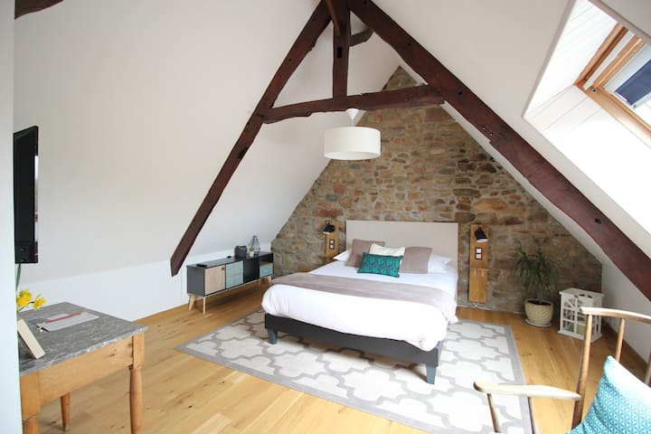 Chambre d'hôtes, B&B, character and confortable