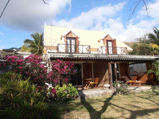 Mauritius Strandhaus direkt am Surf- und Kitespot