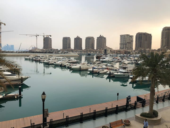 The Pearl Qatar -  Calm and Beautiful