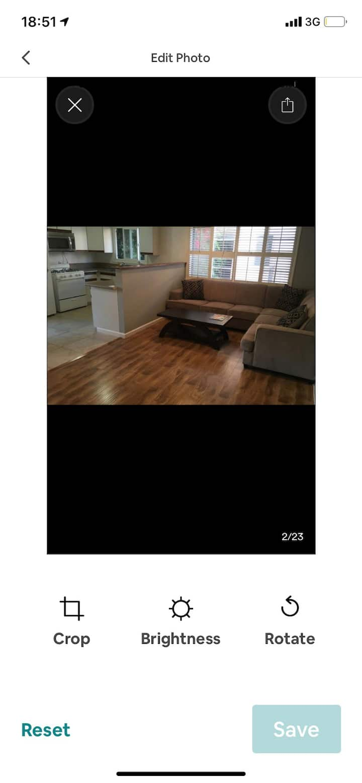 Great and spacious 1 bdr Bh apt