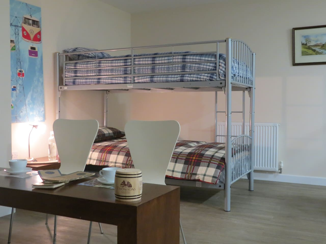 One of our bunks in a spacious shared/family room