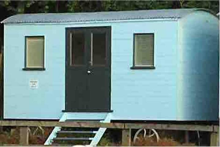 Luxury Shepherd huts which sleeps 2 in each hut