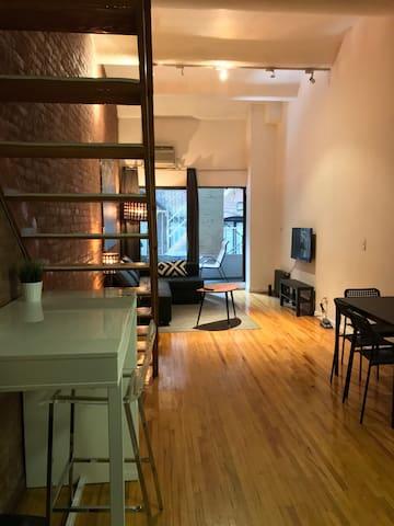 Amazing Loft Duplex, Outdoor & Elevator - Union Sq - New York