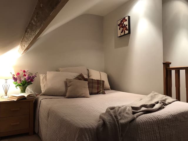 Lovely en suite loft room in heart of Caversham
