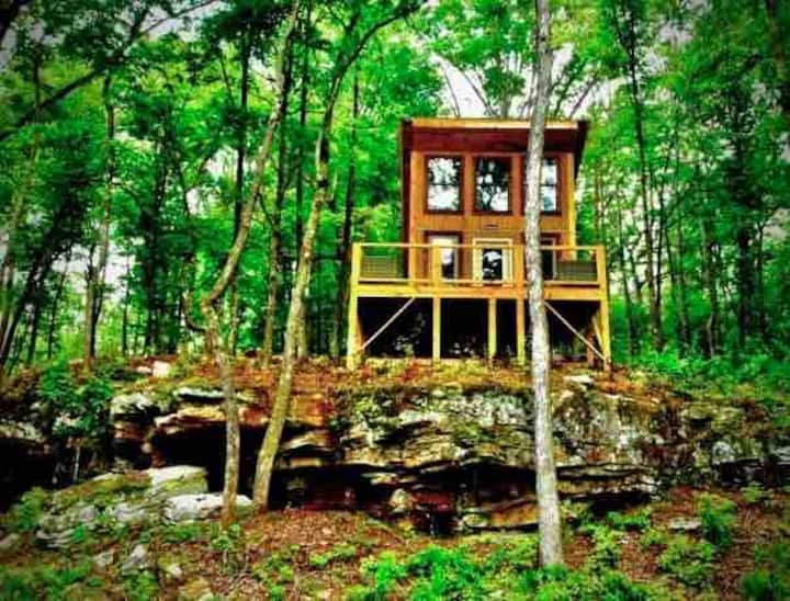 Coyote's Cabin Rare Gem Nestled Away In The Woods