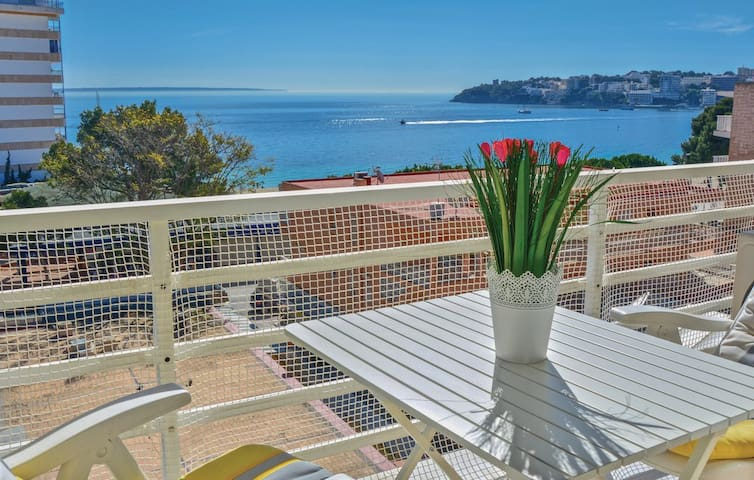 Great terrace with sea views