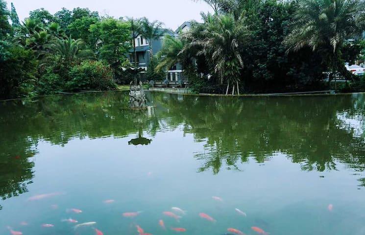 青城山下度假洋房家庭出游、亲友出行首选 - Chengdu - Obsługiwany apartament