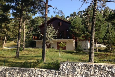 Chalet de montagne à la Moulière - Caille - บ้าน