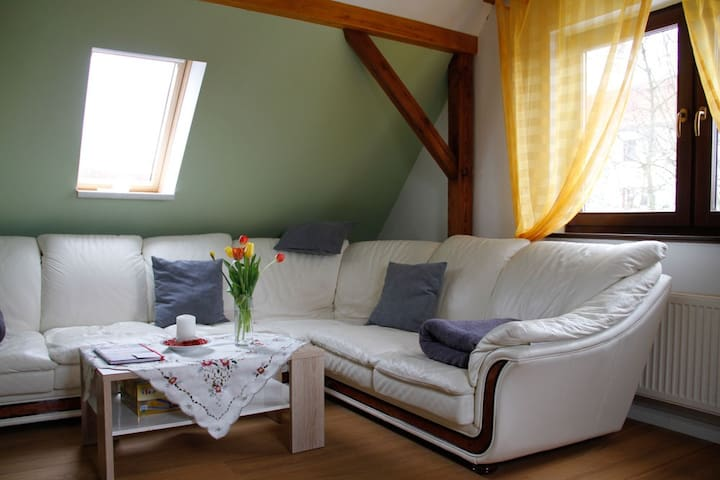 Gemütliche Dachgeschosswohnung 50 m²