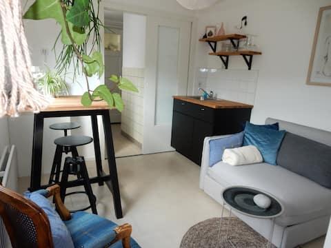 Cozy studio (2 rooms) in the center of Tilburg