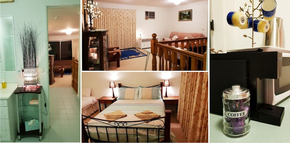 Double bed in main bedroom and trundle available if an additional bed is required