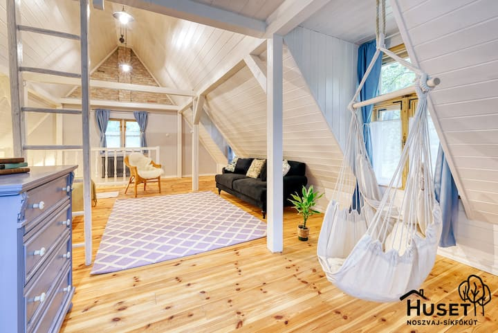 Noszvaj Huset - Cosy cottage insp. by rural Sweden