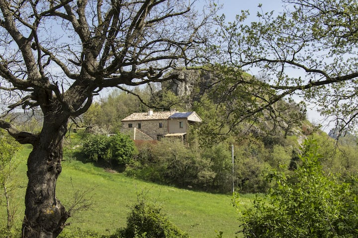 Eco apartment in the heart of Valmarecchia hills