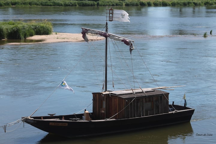 Nuit insolite sur un bateau en Loire