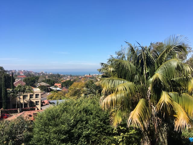 View towards Coogee Beach