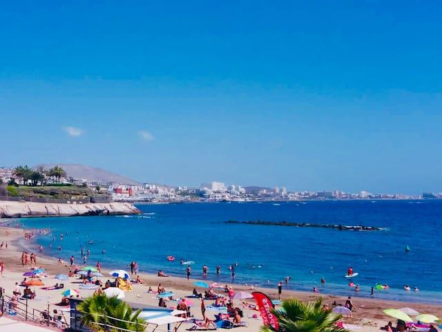 La Caleta Nice 1 bedroom  first line with sea view