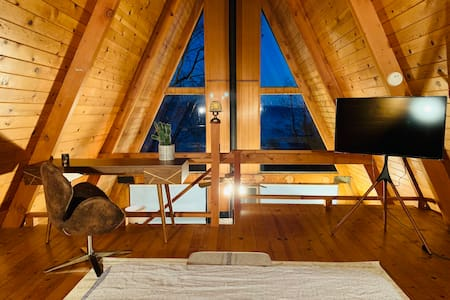 Sequoia A-frame w/ a View