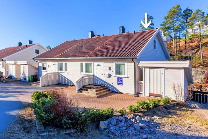 Stor leilighet ved sjøen, 25min til dyreparken - Søgne - Apartamento