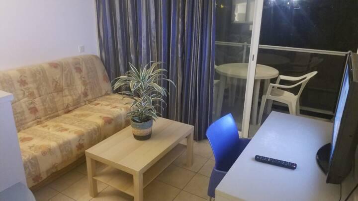 Studio avec terasse dans résidence hôtelière
