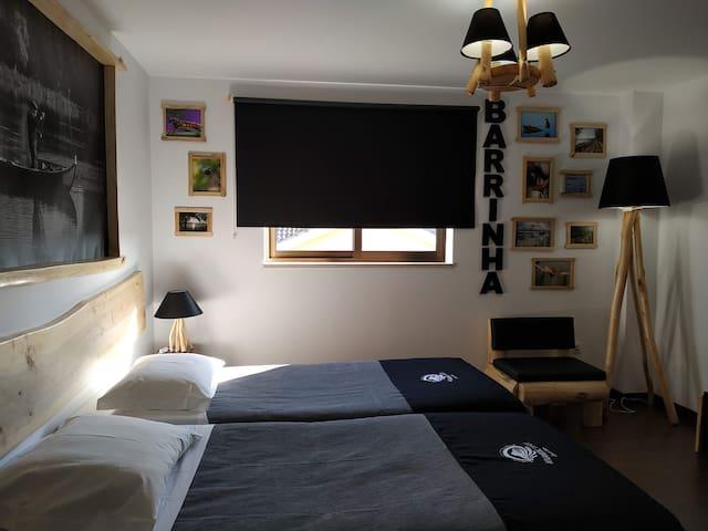 """Quarto/Room """"Barrinha"""" - AtlanticSpot GuestHouse"""