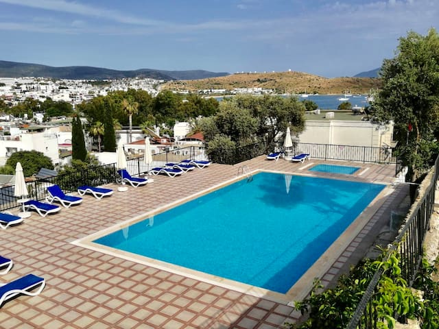 2-bedrooms rental apartment in Bodrum