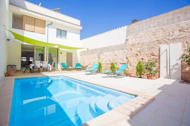 FONERS MALLORQUINS - Villa with private pool in Muro.