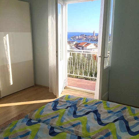 Apartment Ivan 1........with the Old Town Rab View