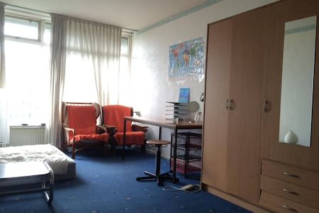 Room 25m2, fully furnished, 5 min to Zernike - Groningen