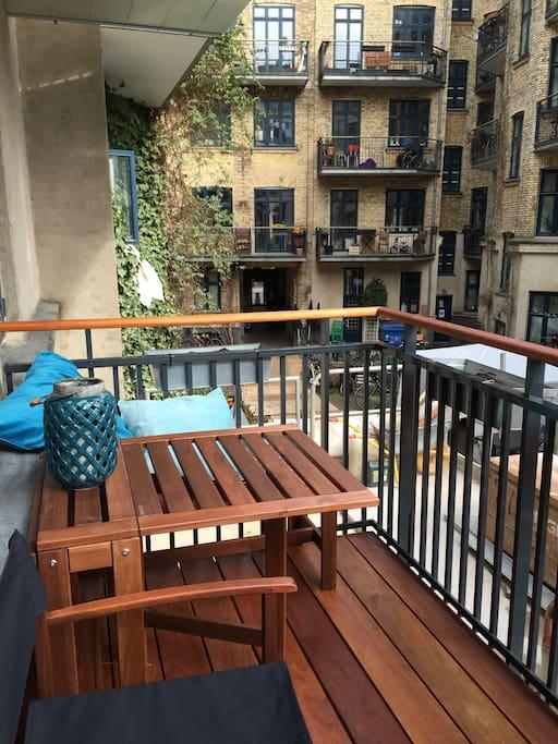 5 m2 balcony