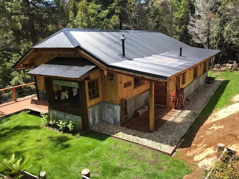 Forest cabin, Bariloche, Patagonia
