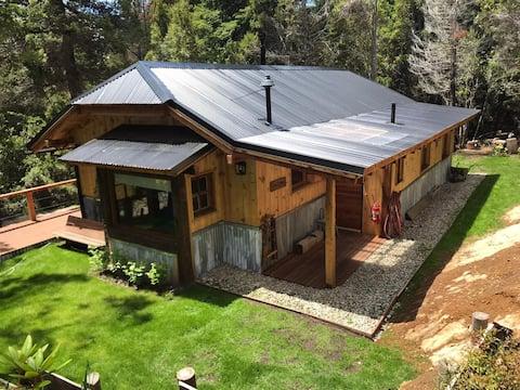 Forest hut, Bariloche, Patagonia
