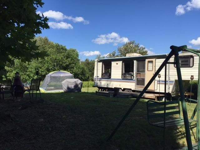 """""""Trailer on the Trail"""" - Private Camp Site Getaway"""