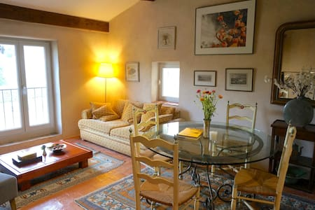 Charming hideaway in Lourmarin - Lourmarin - Appartement