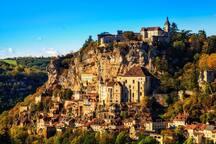 Rocamadour à moins de 68 km de Sainte-Féréole