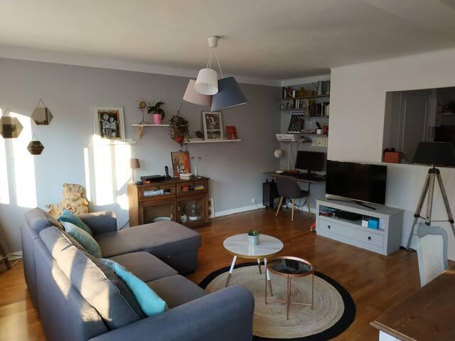 Appartement chaleureux centre ville de Toul