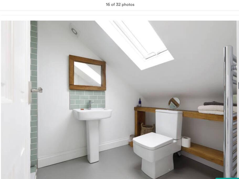 Loft ensuite bathroom