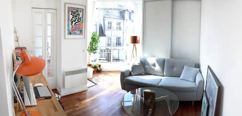 Charming studio in the heart of Paris