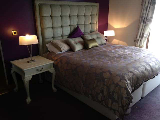 En-suite bedroom modern spacious house w/breakfast - Newry and Mourne - Dům