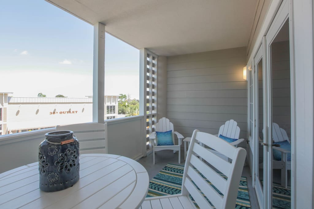 additional seating on porch