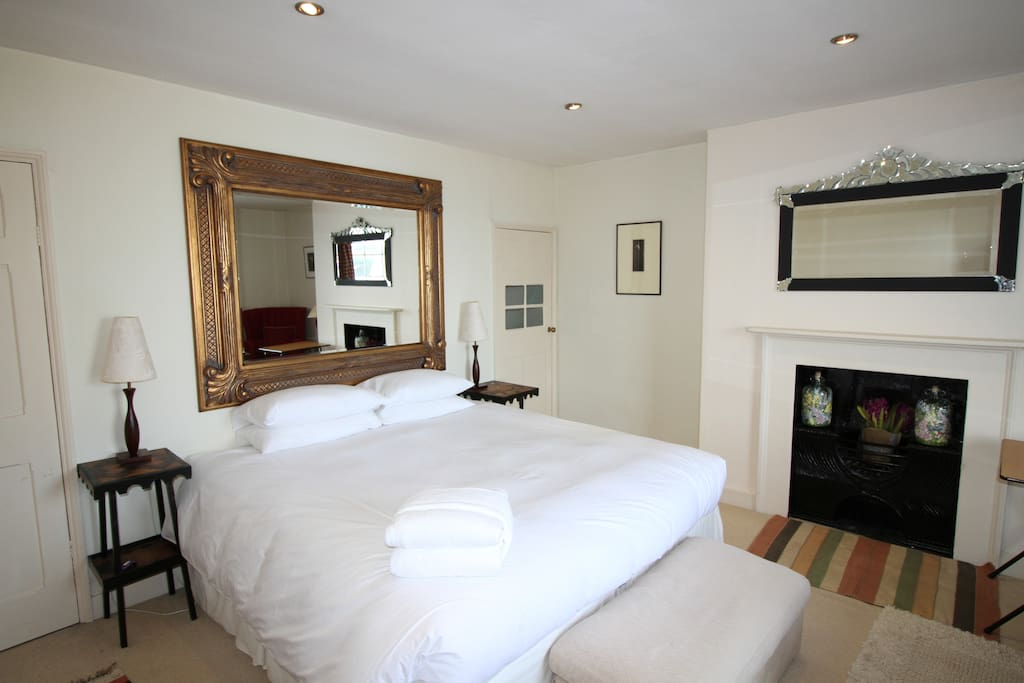 First floor bedroom which has sea views