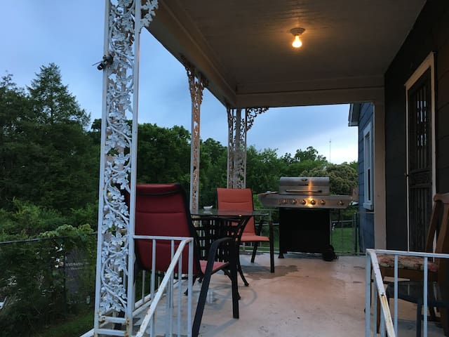 Grill and Porch!