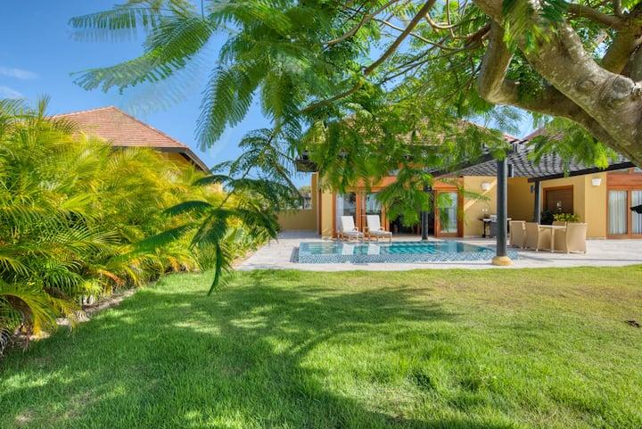 Get a tan in this Year Round Sunshine Villa