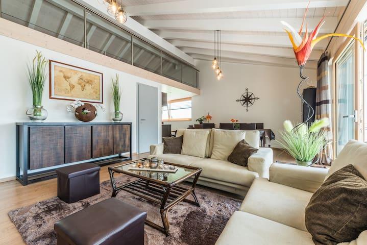 Grand duplex moderne et cosy jusqu'à 8 personnes