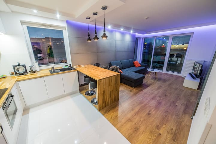 Luxury Apartment - Gdańsk - Huoneisto