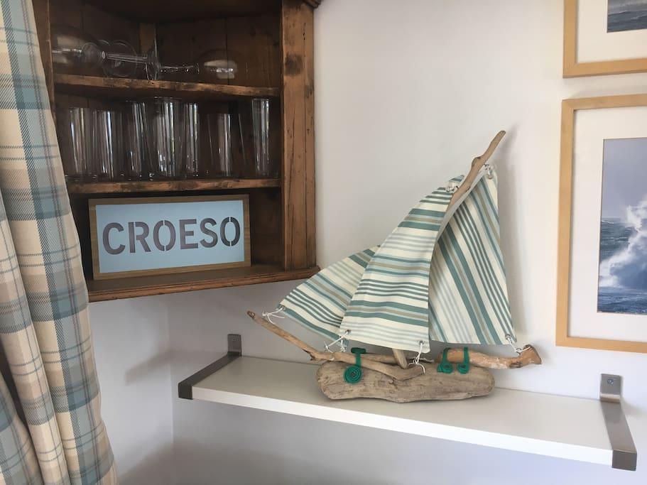 CROESO!  Welcome!