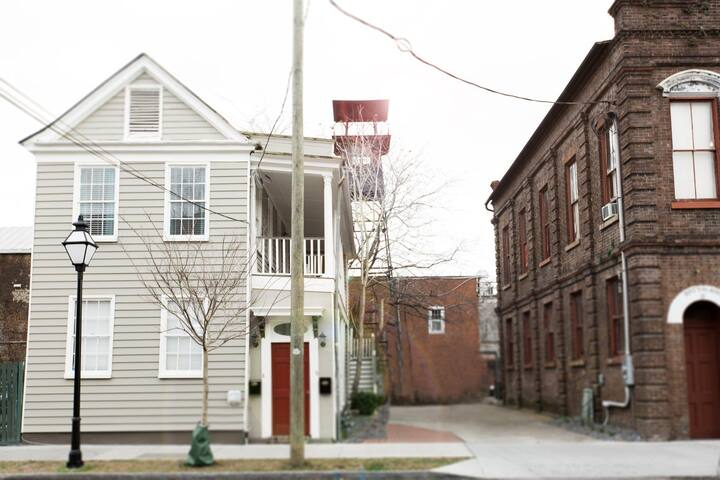 LOCATION! Hip Downtown KING at Cannon, Park 2 cars