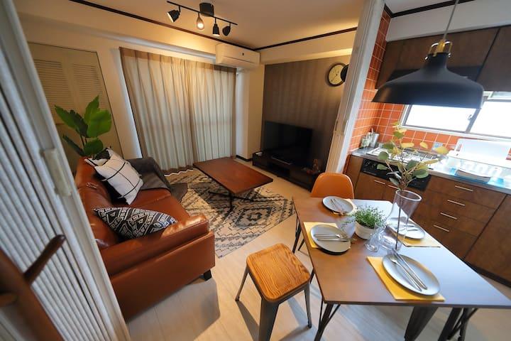 Suite Room!7min Tennouji station Free  WiFi TN-703